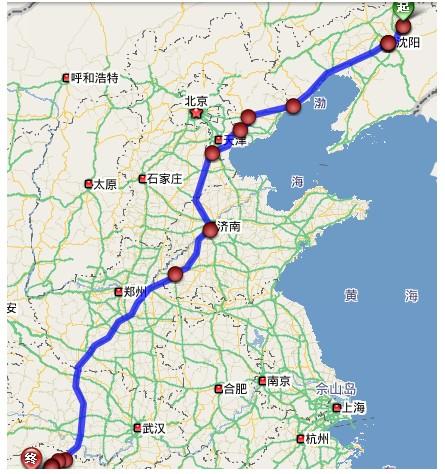郑州到沈阳飞机时刻表